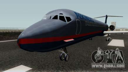 McDonnell Douglas MD-80 Aeromexico Old for GTA San Andreas