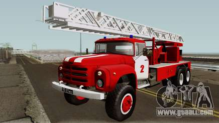 ZIL-133 TN Fire ladder truck for GTA San Andreas