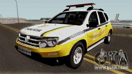 Renault Duster 2014 Brigada Militar for GTA San Andreas
