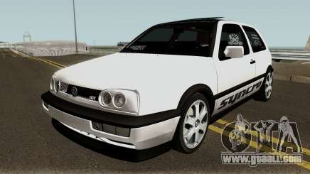 Volkswagen Golf 3 ABT VR6 Turbo Syncro for GTA San Andreas