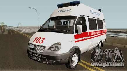 GAZ-3221 Ambulance services for GTA San Andreas