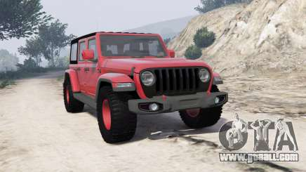 Jeep Wrangler Unlimited Rubicon 2018 [add-on] for GTA 5