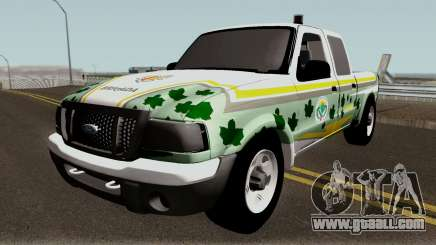 Ford Ranger 2007 da PATRAM for GTA San Andreas