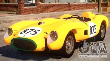 1957 Ferrari Testa Rossa PJ2 for GTA 4