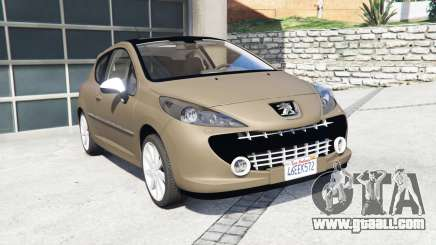 Peugeot 207 RC 2007 [add-on] for GTA 5