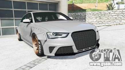 Audi RS 4 Avant (B8) 2013 LibertyWalk [replace] for GTA 5