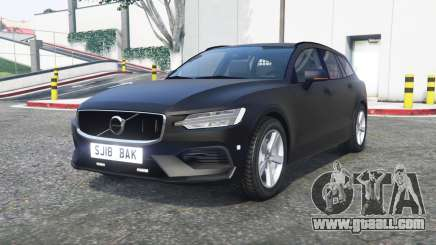 Volvo V60 2018 Unmarked Police [ELS] [replace] for GTA 5