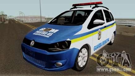 Volkswagen Spacefox Guarda Municipal for GTA San Andreas