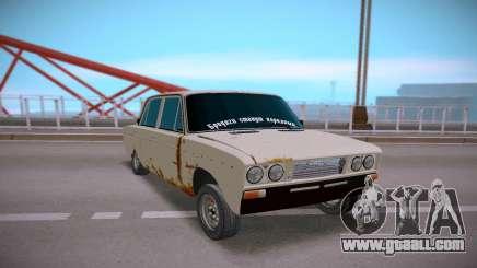 VAZ 2106 Rusty Tramp for GTA San Andreas