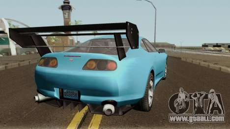 Dinka Jester Classic or F&F GTA V for GTA San Andreas right view