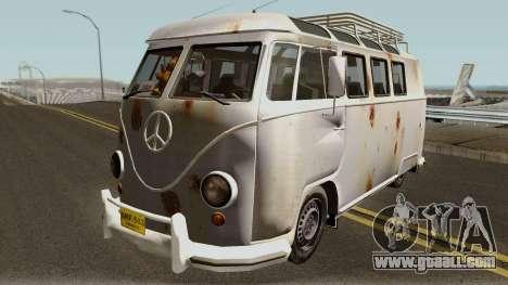 Volkswagen Kombi for GTA San Andreas