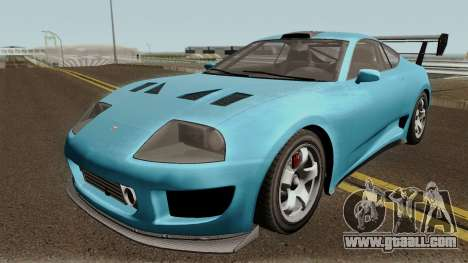 Dinka Jester Classic or F&F GTA V for GTA San Andreas