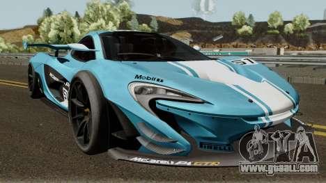 Mclaren P1 GTR 2016 for GTA San Andreas