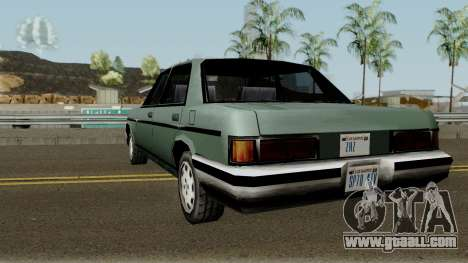 Benefactor Admiral 92 Classic W112 (SA Style) for GTA San Andreas