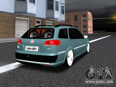 Fiat Palio Weekend for GTA San Andreas