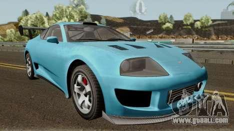 Dinka Jester Classic or F&F GTA V for GTA San Andreas inner view