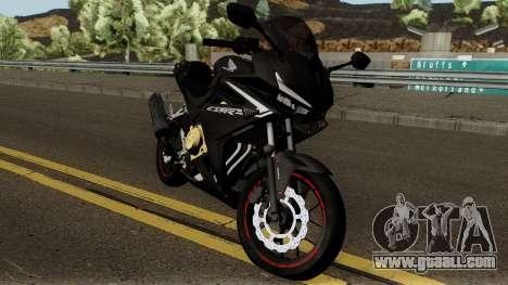 Honda CBR 500R Modified 2016 for GTA San Andreas inner view