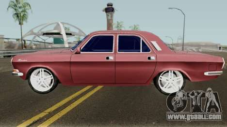 GAZ-24 Volga Standard Version for GTA San Andreas
