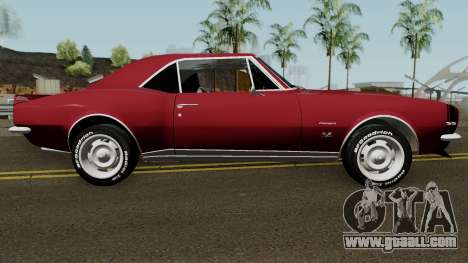 Chevrolet Camaro Z28 Buddy Repperton v1.0 1967 for GTA San Andreas