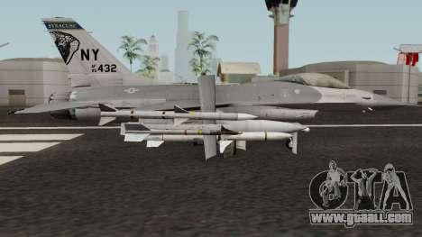 F-16C Fighting Falcon for GTA San Andreas