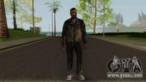 Bikers DLC Skin for GTA San Andreas second screenshot