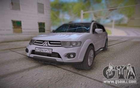 Mitsubishi Pajero Sport for GTA San Andreas