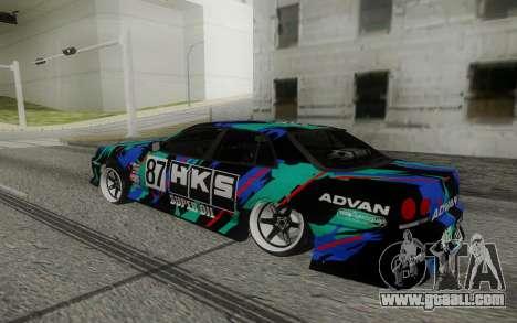 Nissan Skyline ER 34 for GTA San Andreas