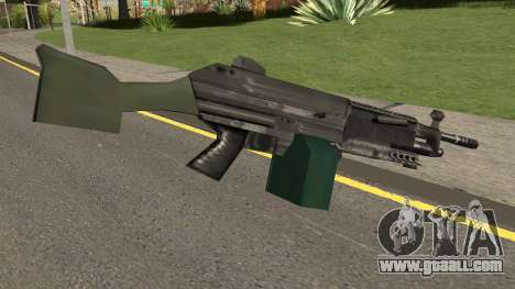 M249 Saw (SA Style) for GTA San Andreas