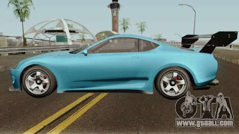 Dinka Jester Classic or F&F GTA V for GTA San Andreas left view