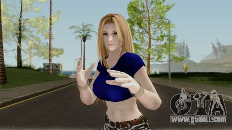 Tina Armstrong (Casual Long Hair) From DOA5LR for GTA San Andreas