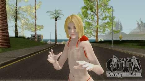Blue Mary Bikini for GTA San Andreas