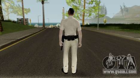 GTA Online Random Skin 5: Sahp Female Officer for GTA San Andreas
