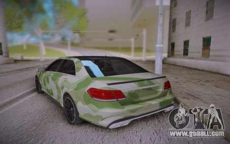 Mercedes-Benz E63 W212 SAMG for GTA San Andreas