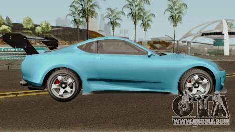 Dinka Jester Classic or F&F GTA V for GTA San Andreas back view