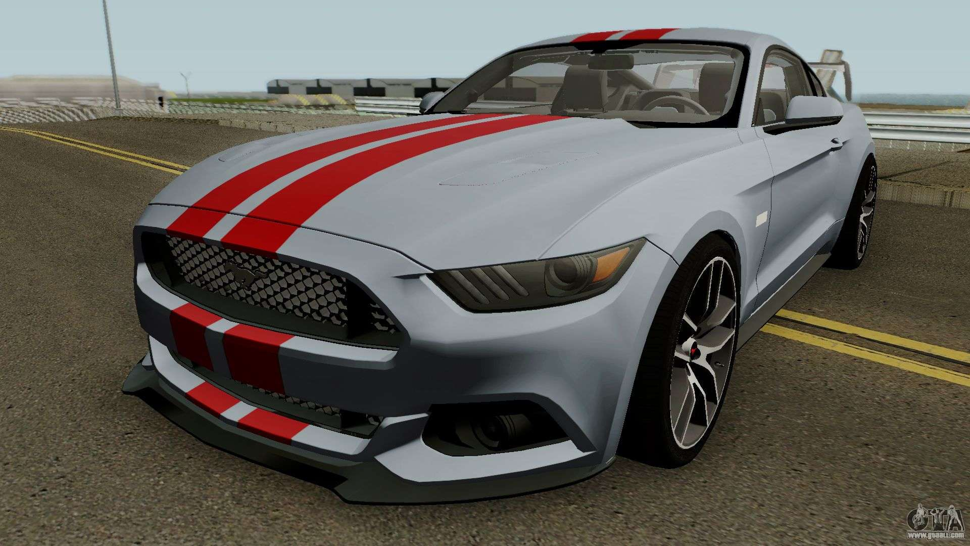ford mustang gt 2014 for gta san andreas. Black Bedroom Furniture Sets. Home Design Ideas