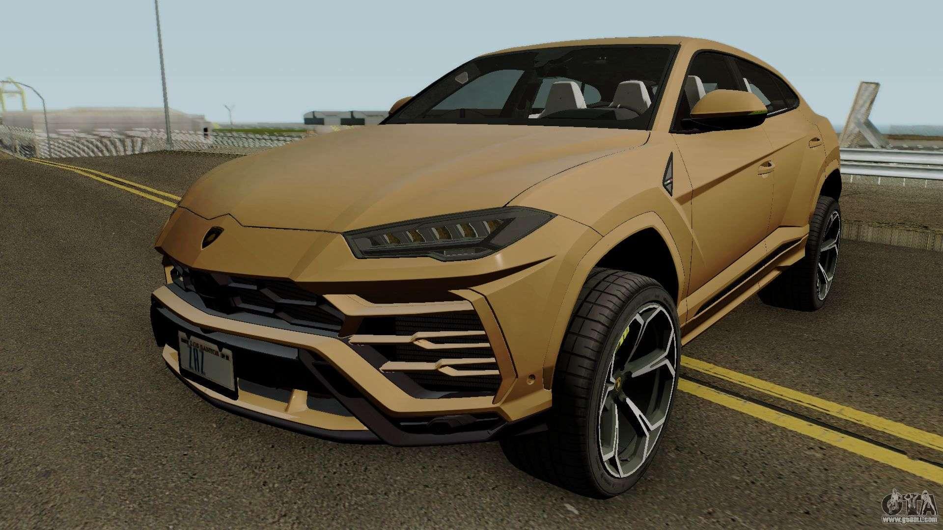 Lamborghini Urus 2018 IVF for GTA San Andreas