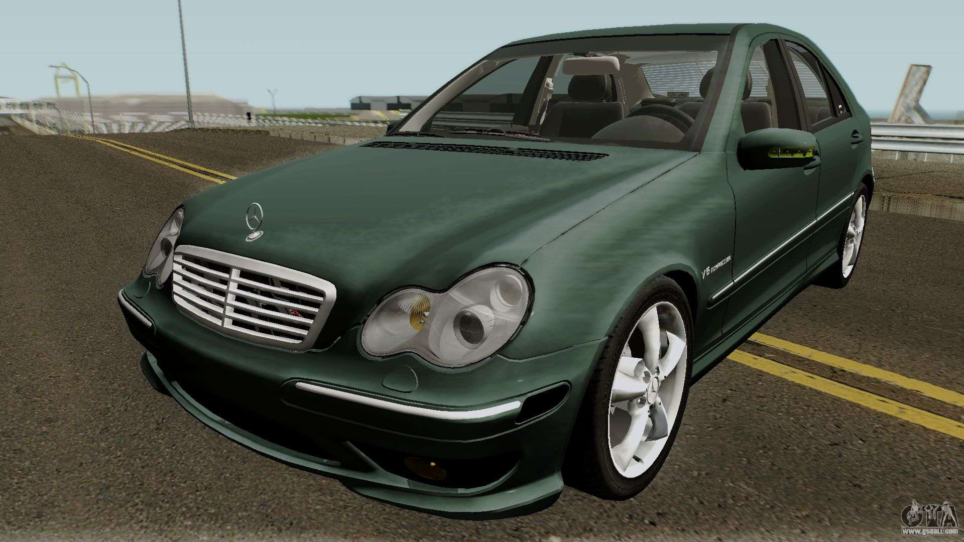 mercedes benz c klasse w203 c32 us spec for gta san andreas. Black Bedroom Furniture Sets. Home Design Ideas