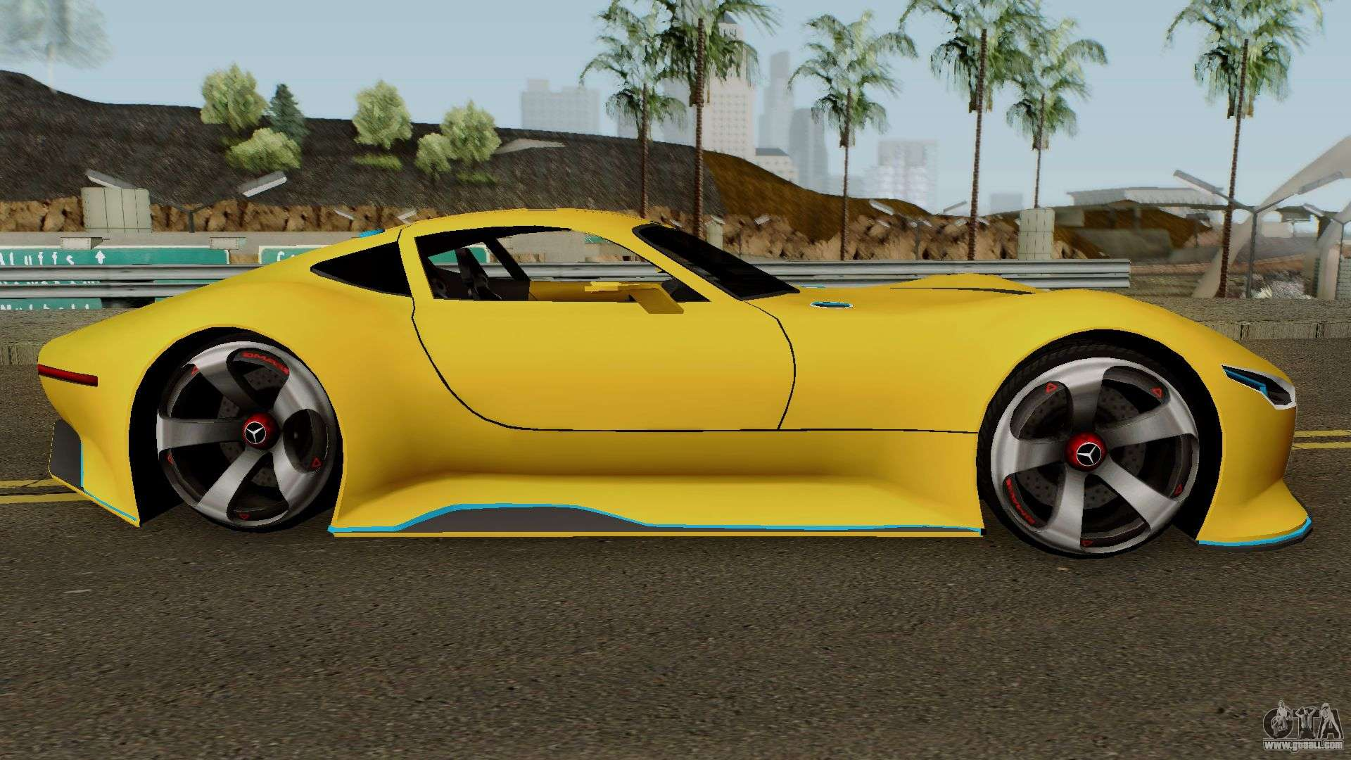 Mercedes Benz AMG Vision GT for GTA San Andreas