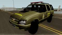 Chevrolet Blazer Brasilian Police for GTA San Andreas