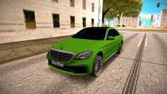 Mercedes-Benz S63 AMG Green for GTA San Andreas