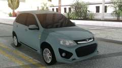 Lada Kalina Sport Grey for GTA San Andreas