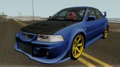 Mitsubishi Evolution VI Edited for GTA San Andreas