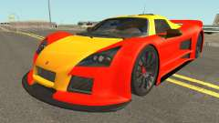 Gumpert Apollo 2M-Designs for GTA San Andreas