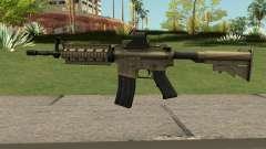M4A1 TAN for GTA San Andreas