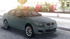 BMW M5 E60 Grey for GTA San Andreas