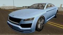 Ubermacht Revolter v.2 GTA V IVF for GTA San Andreas