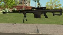 New Sniper Rifle Black for GTA San Andreas