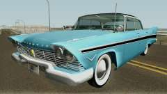 Plymouth Belvedere Sedan (Christine Style) 1957 for GTA San Andreas