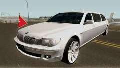 BMW 760Li E66 W12 Limousine for GTA San Andreas