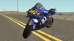 Yamaha YZF M1 2018 for GTA San Andreas